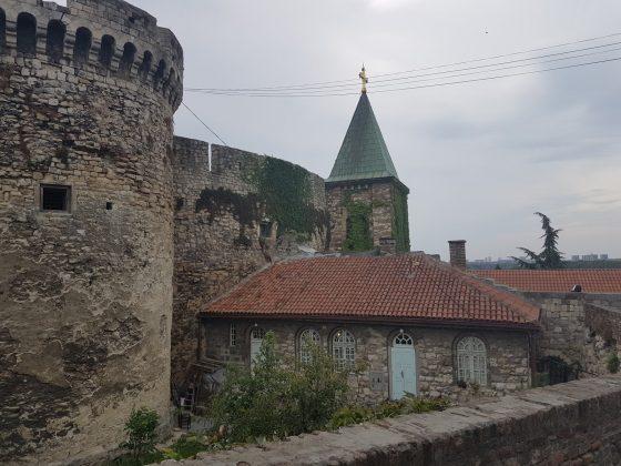 Kalemegdan, Crkva Ružica, Toranj