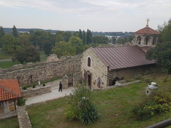 Pogled na Crkvu Svete Petke, Kalemegdan