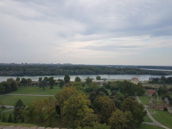 Predivan pogled na Savu i Dunav, Kula Nebojša, Kalemegdan