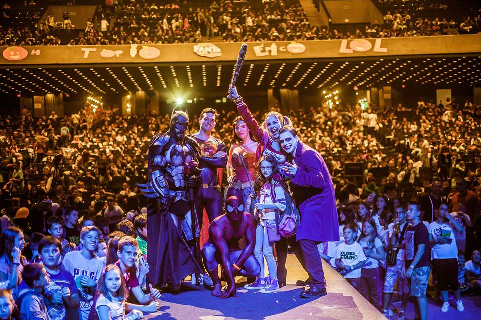 Balkan Tube Fest Beograd 2017, selfie superheroji; Foto: Marko Obradović Edge