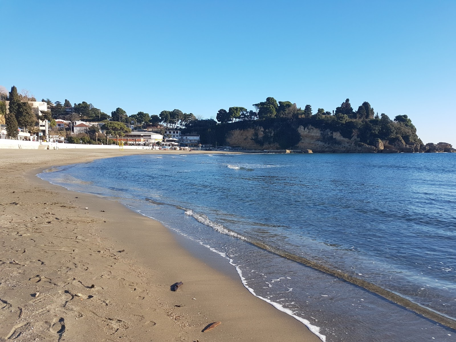 Gradska plaža, Ulcinj, pesak