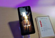 Huawei P20 Pro, prednja strana, vrhunski displej