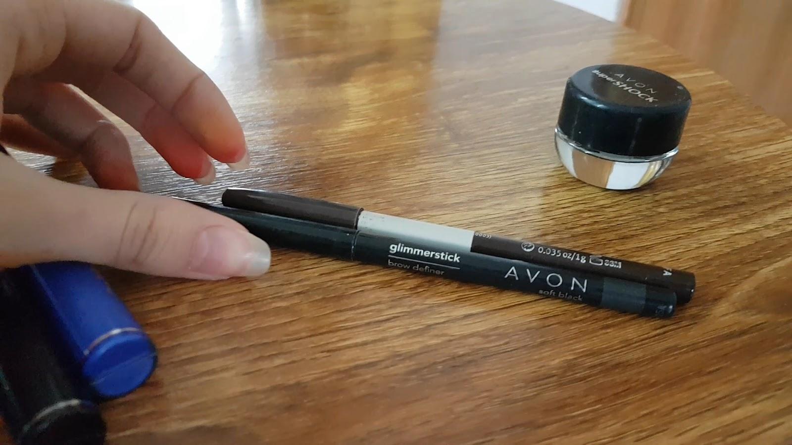 Olovke za obrve, Avon i Essence