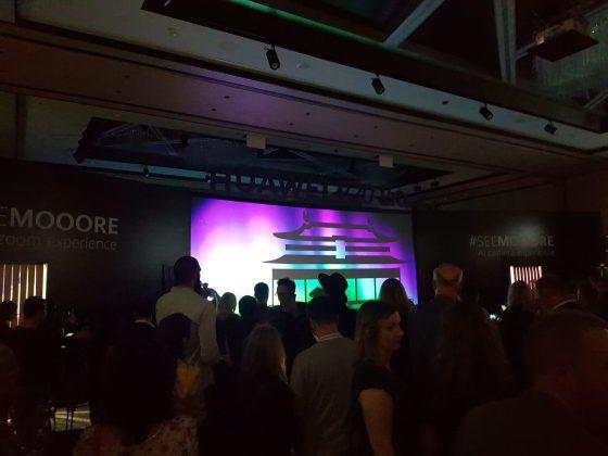 Početak spektakla; Predstavljanje Huawei P20 Pro