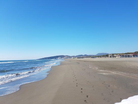 Pogled na desno, Velika Plaža, Ulcinj