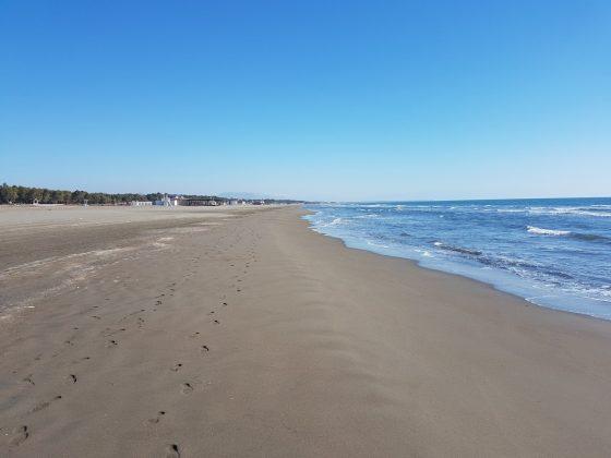 Pogled na levo, Velika plaža, Ulcinj