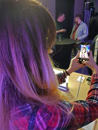 Testiranje prednje kamere Huawei P20 Pro