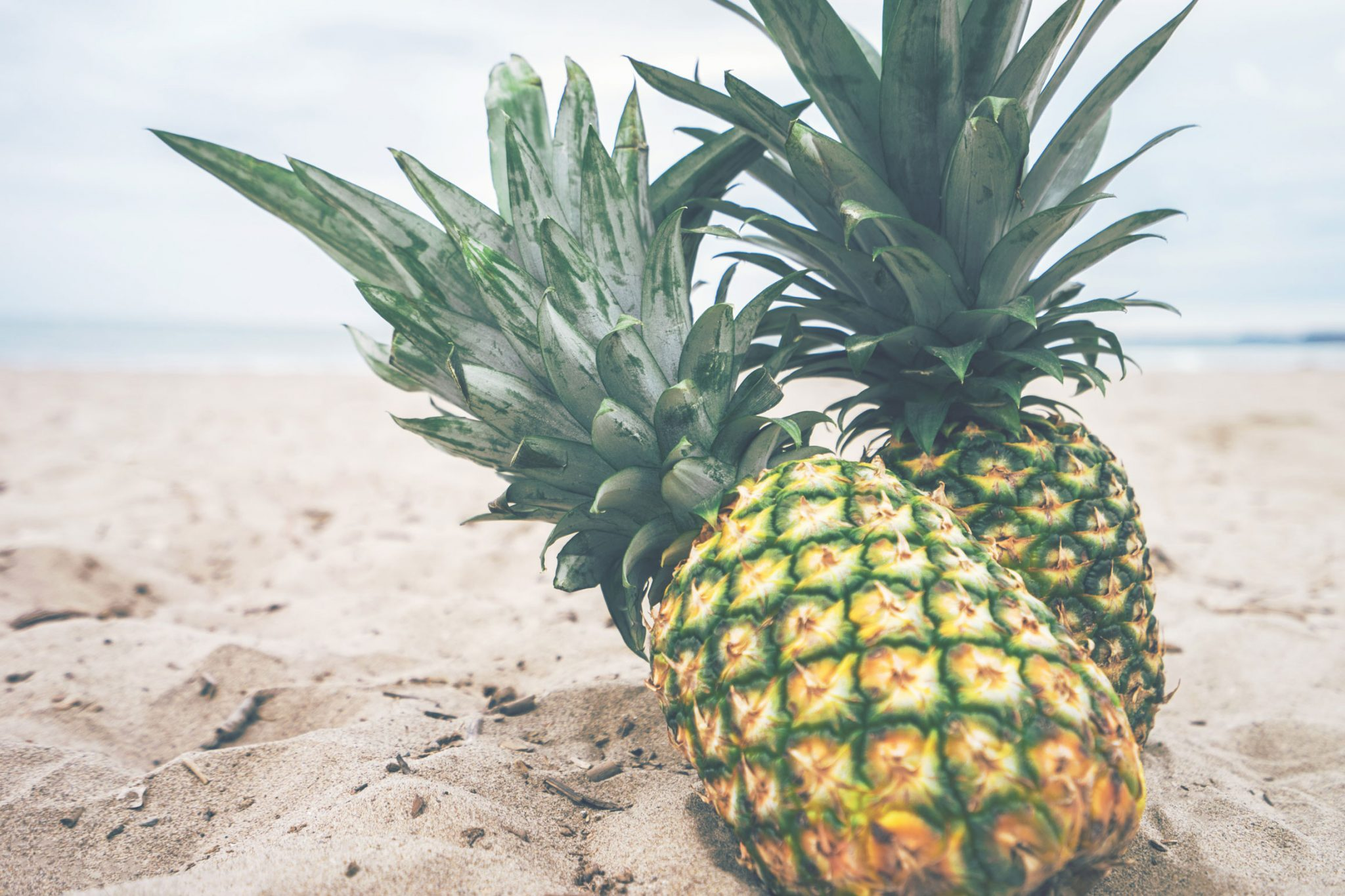 Ananas na plaži; Foto: Pineapple Supply Co. from pexels.com