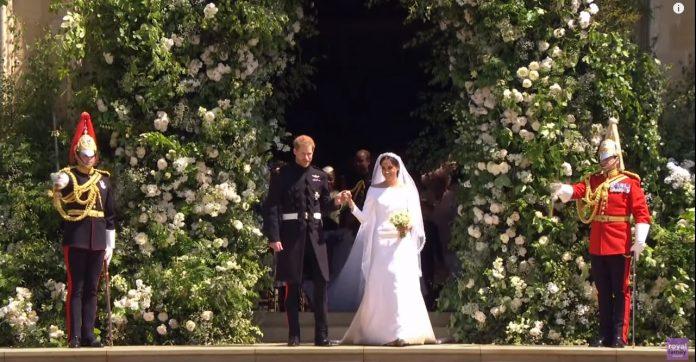 Kraljevsko venčanje; Princ Heri i Megan Merkl; Foto: youtube.com screenshot