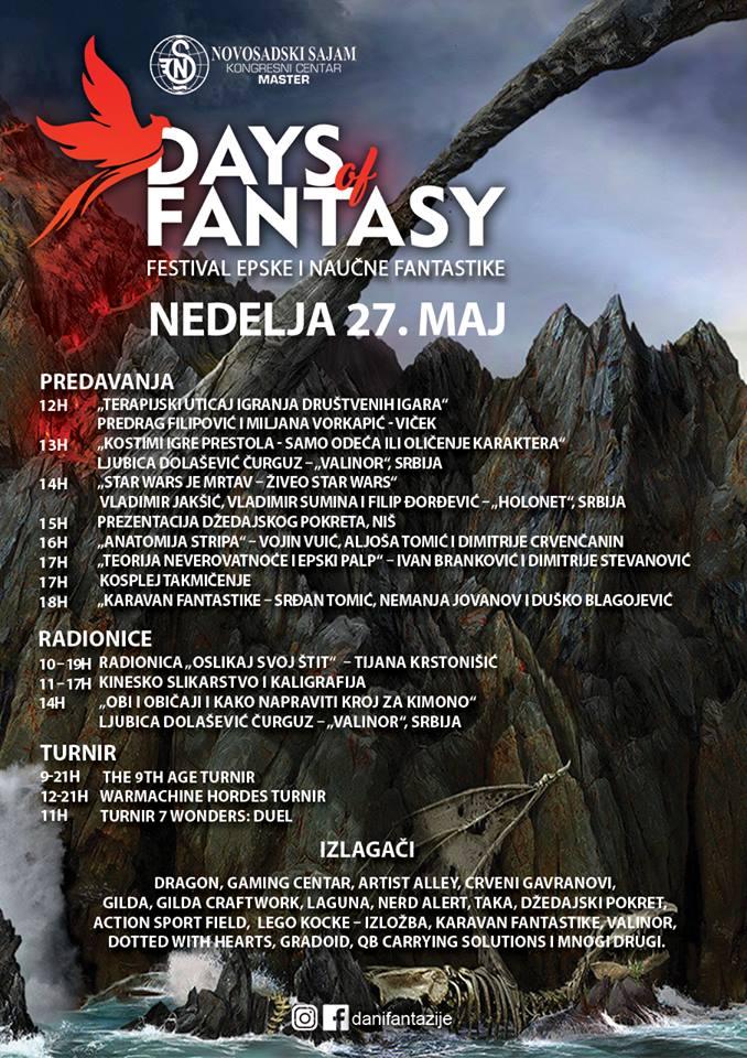 Program festivala 27.maj