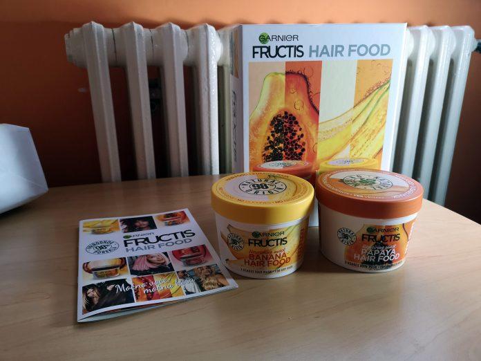 Garnier Fructis Hair Food; Nova nega za kosu; Foto: kovalska.rs