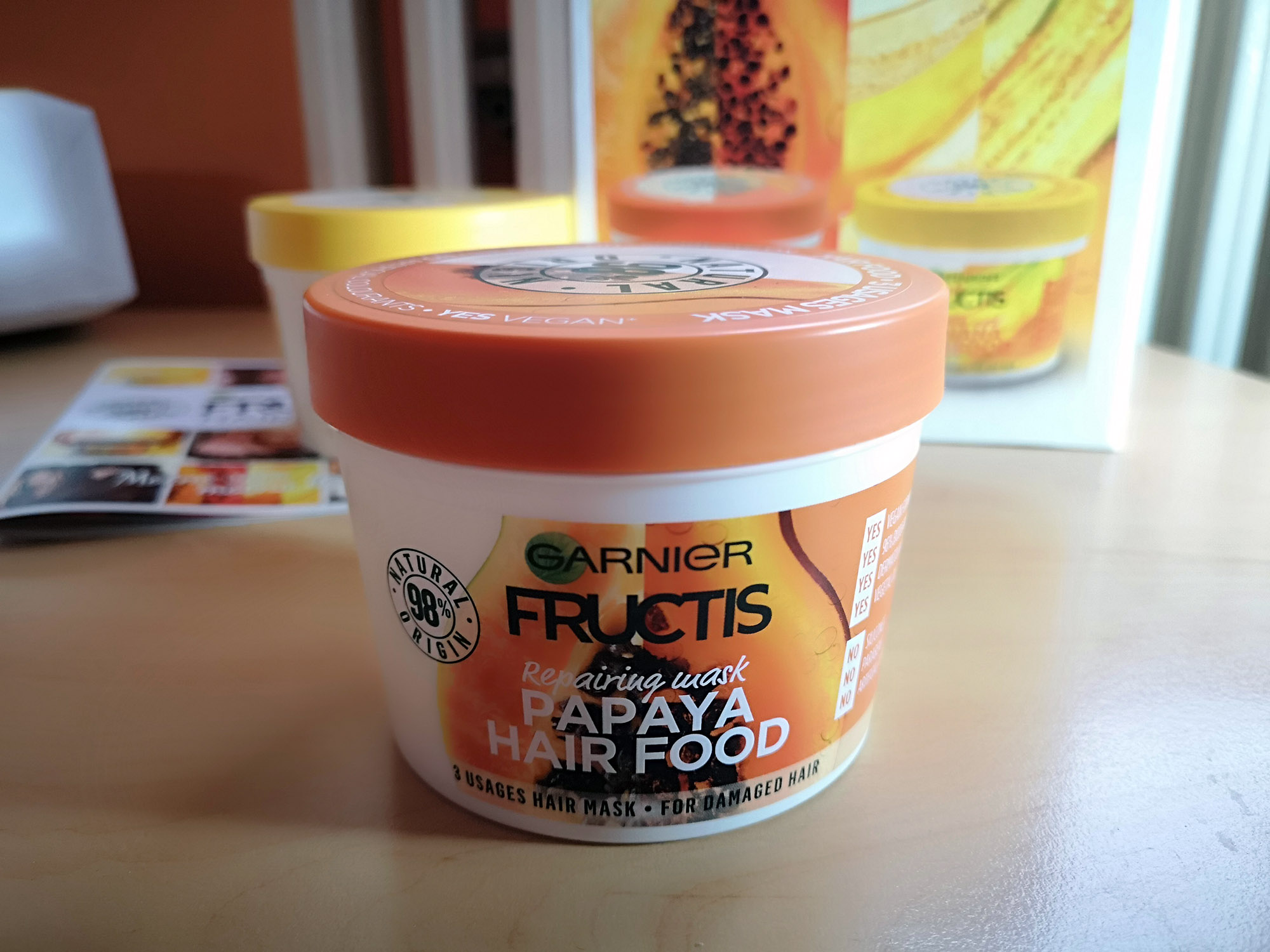 Garnier Fructis Hair Food Papaja; Foto: kovalska.rs