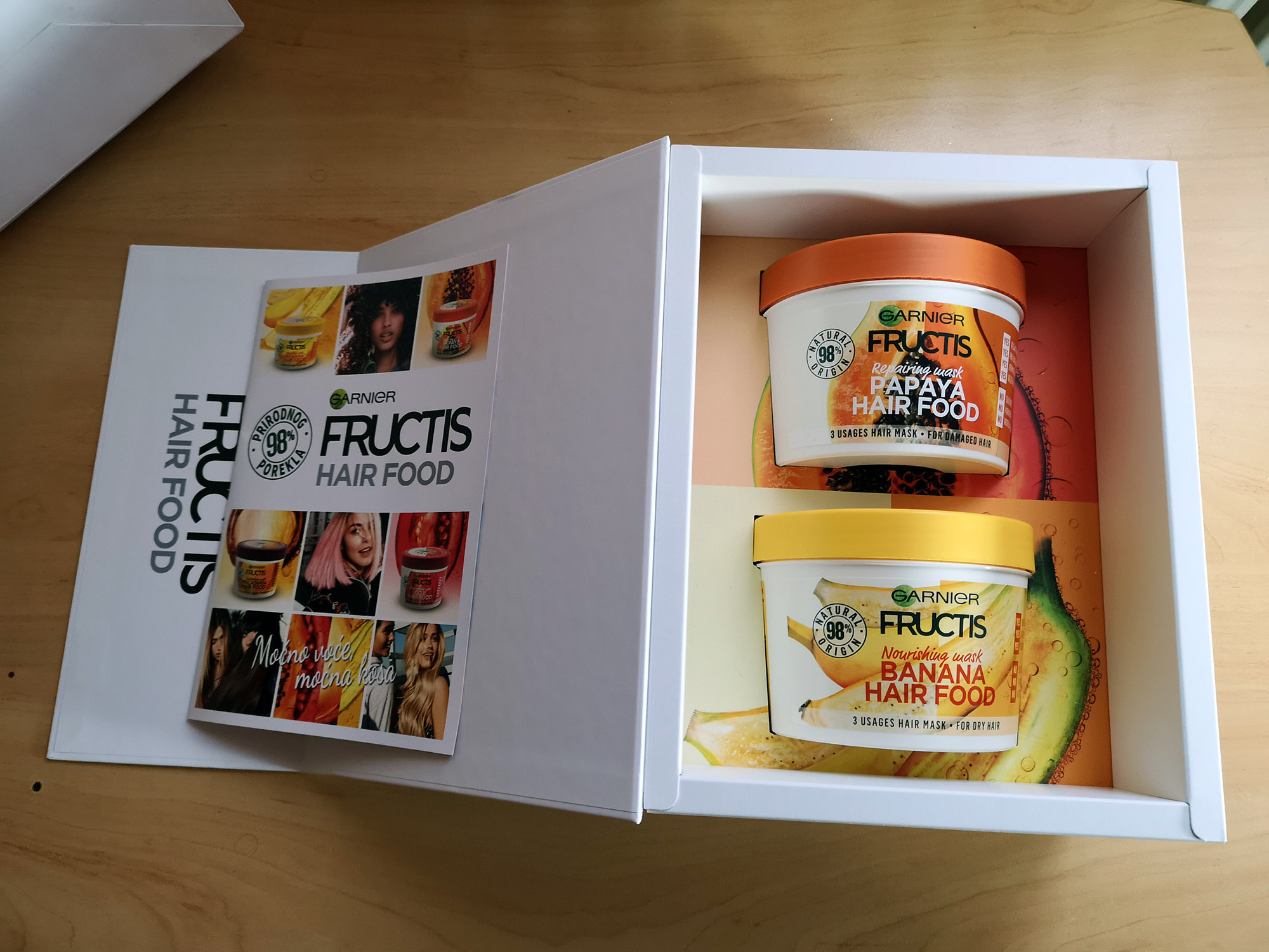 Garnier Fructis Hair Food Papaja i Banana; Foto: kovalska.rs