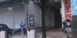 Nevreme u Beogradu; Bulevar despota Stefana; Foto: screenshot kovalska.rs