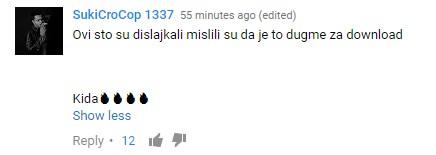 SukiCroCop 1337 komentar na video Baka Prase - Bleja u Turskoj