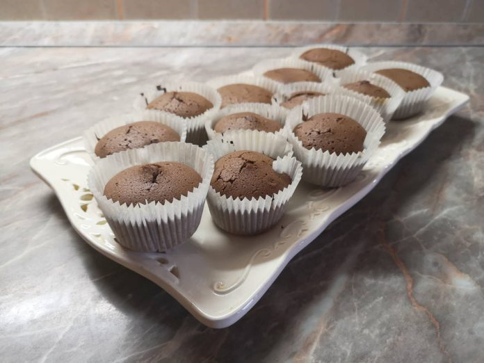 Čokoladni mafini - jednostavan recept; Foto: kovalska.rs