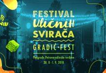 Festival uličnih svirača - Gradić fest, Novi Sad; Foto: facebook.com/UlicniSviraci