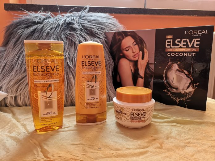 L'Oreal Paris - Elseve Extraordinary Coconut Oil - Intenzivna nega za kosu; Foto: kovalska.rs