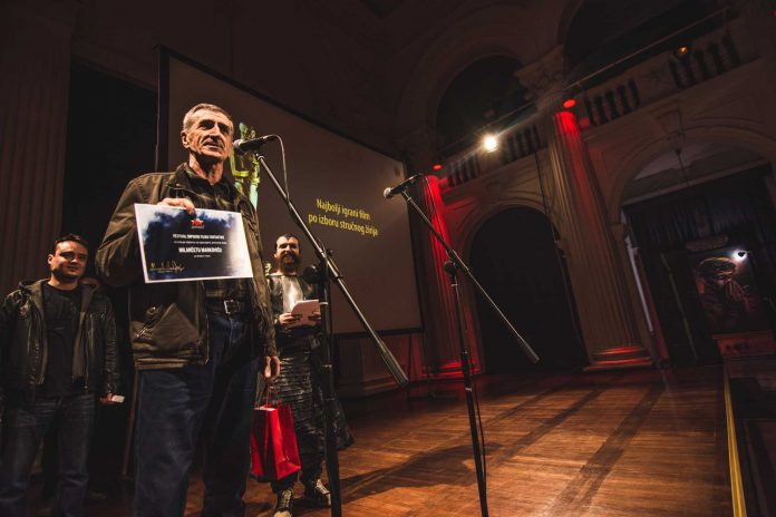 Milanče Marković; 12. Festival srpskog filma fantastike; Foto PR