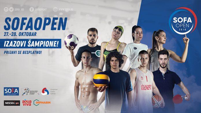 SOFA OPEN 2018 - IZAZOVI ŠAMPIONE; Foto PR