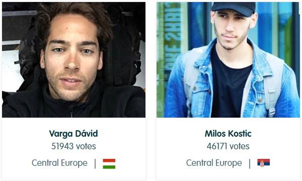 Miloš Kostić vs Varga David; Foto screenshot