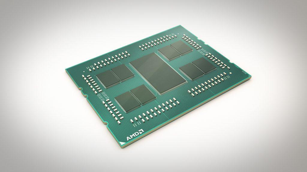 AMD EPYC procesor 7nm; Foto PR