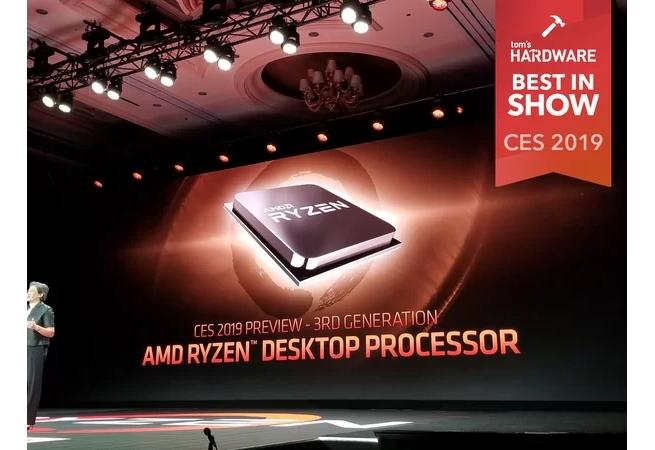 AMD prestavljanje na CES 2019; Foto PR
