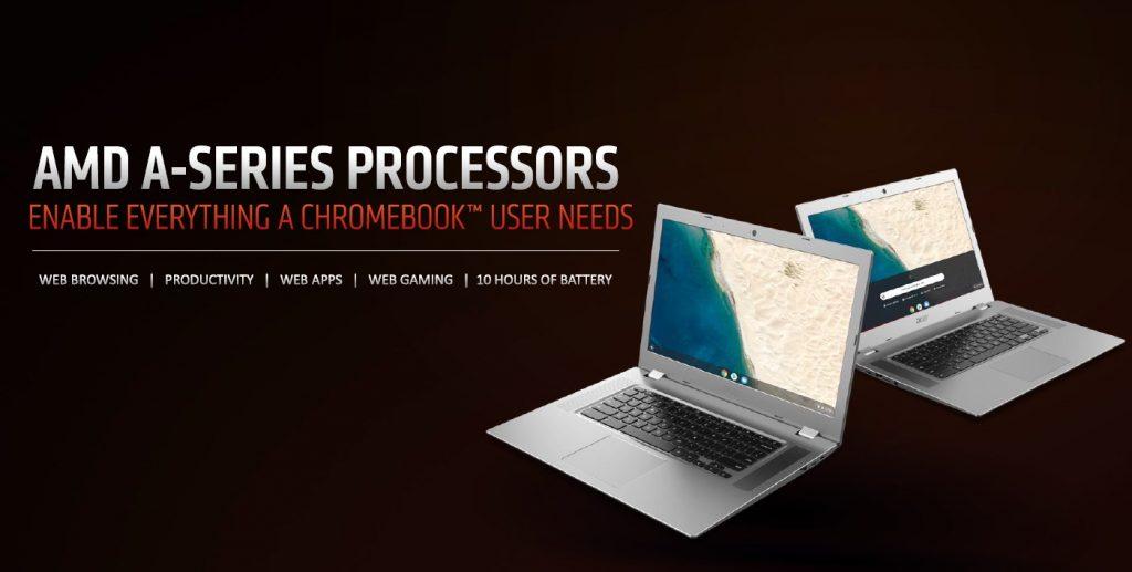 AMD procesori serije A omogućuju Chromebook korisnicima maksimalan užitak; Foto PR