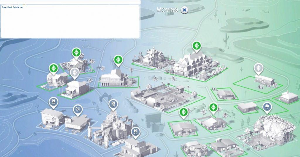 Free Real Estate kod u The Sims 4