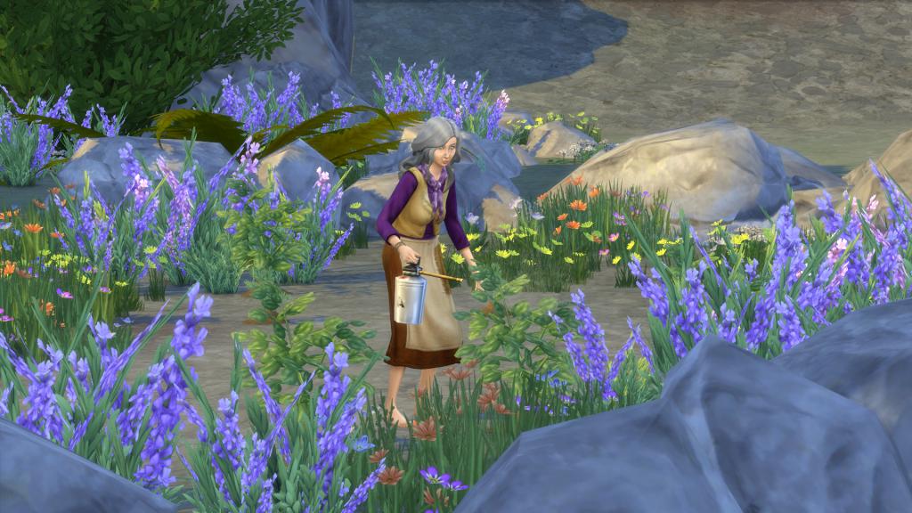 Misteriozni karakter - Hermit - The Sims 4; Foto sims.fandom.com