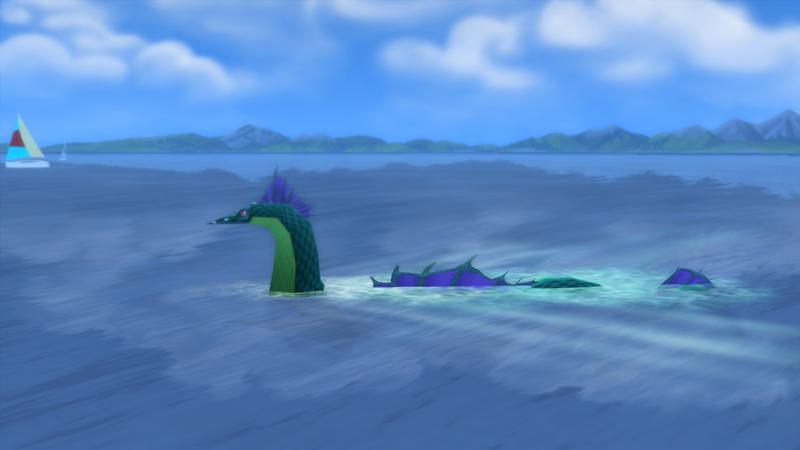 Morsko čudovište u Windenburgu - The Sims 4; Foto forums.thesims.com