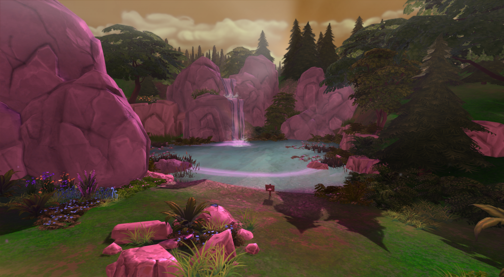 Sylvan Glade - The Sims 4; Foto forums.thesims.com