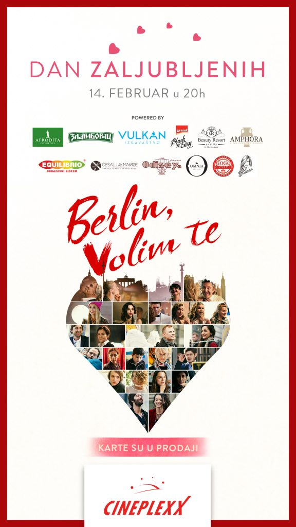 Berlin, Volim te i brojne nagrade za dame; Foto PR