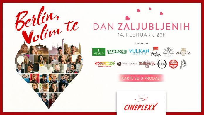 Dan zaljubljenih u bioskopima Cineplexx; Foto PR