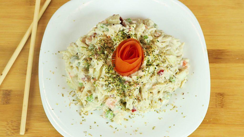 (slika2) Špagete sa povrćem u super kremastom siru Foto: Branimir Stamenić