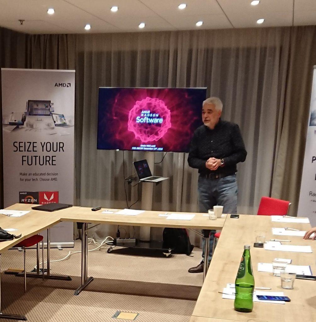 Andrej Zdravković AMD; Foto PR