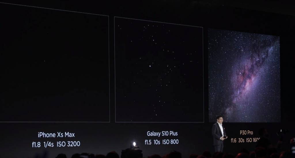 Kamera Huawei P30 Pro vs Iphone Xs Max vs Galaxy S10 Plus; Foto screenshot youtube - Huawei Mobile