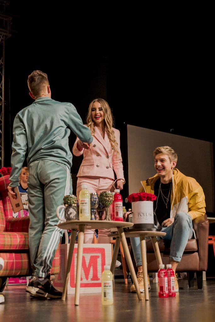 Miro Čabraja, Lea Stanković i Andrija JO - MC Show; Foto PR