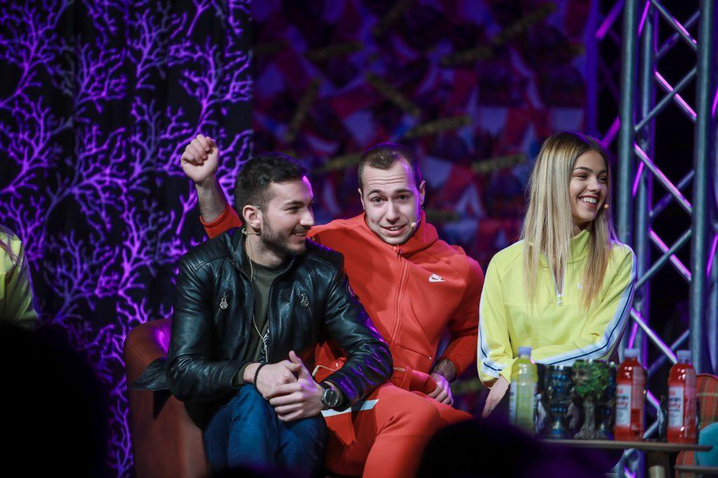 Najbolji Ortaci i Anna Lazarević - MC Show; Foto PR