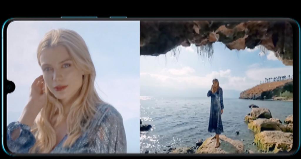 Snimanje sa dve kamere u isto vreme na Huawei P30 Pro; Foto screenshot youtube - Huawei Mobile