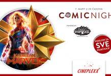 Veče stripa uz Bri Larson u bioskopima Cineplexx; Foto PR