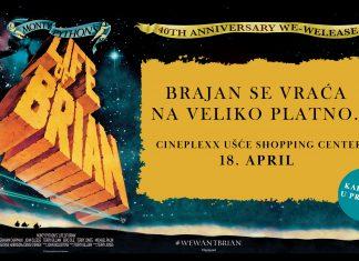 Specijalna projekcija filma Žitije Brajanovo posle 40 godina - Life of Brian; Foto PR