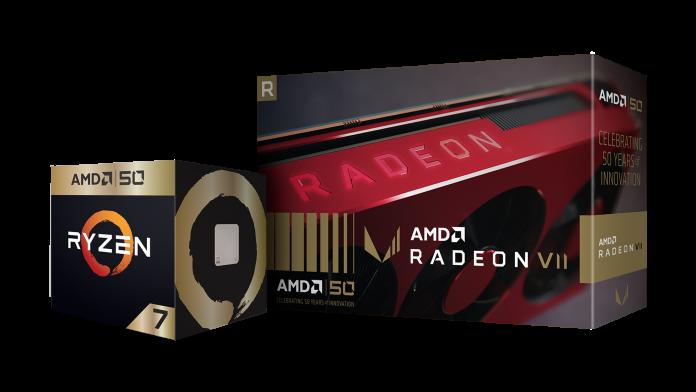AMD obeležava 50 godina postojanja limitiranom Zlatnom serijom; Foto PR