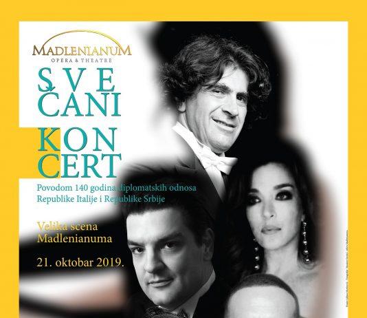 Nedelja italijanskog jezika - Svečani koncert - Madlenianum; Foto PR
