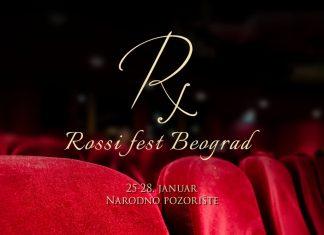 Rossi Fest Beograd - Narodno pozorište; Foto PR