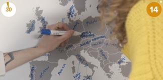 Britanci pogađaju zemlje Evrope; Foto screenshot
