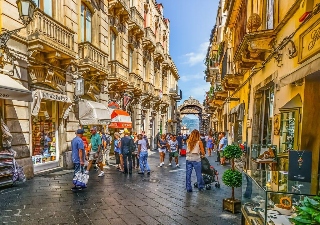 Taormina, Sicilija; Foto kirkandmimi pixabay.com