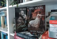 Inna Moore - Dodir zvijeri i Vidar mojih rana; Foto privatna arhiva