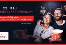 Cineplexx rođendan - Specijalna cena ulaznice; Foto PR