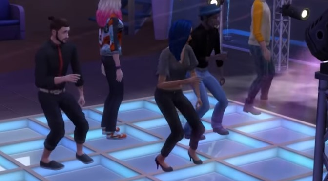 Dance skill The Sims 4